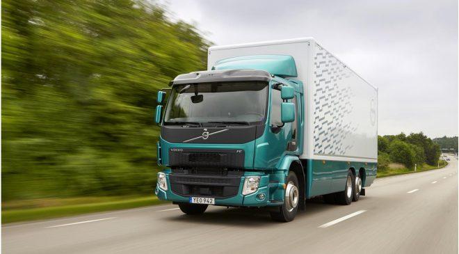 Un motore più potente amplia l'uso di Volvo FE