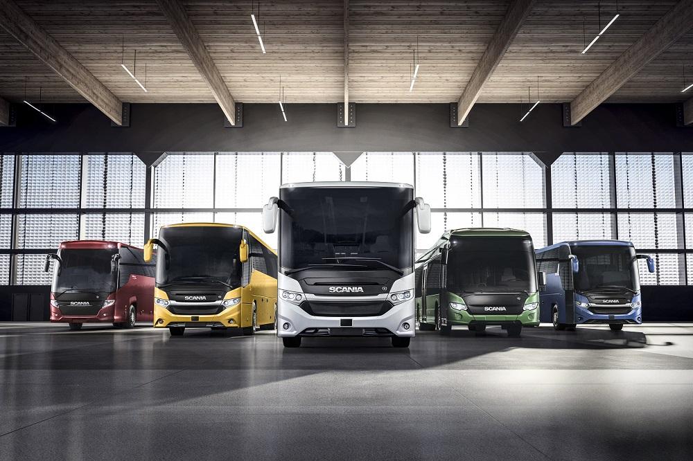 Scania presenta a Busworld il nuovo veicolo ibrido Scania Interlink LD