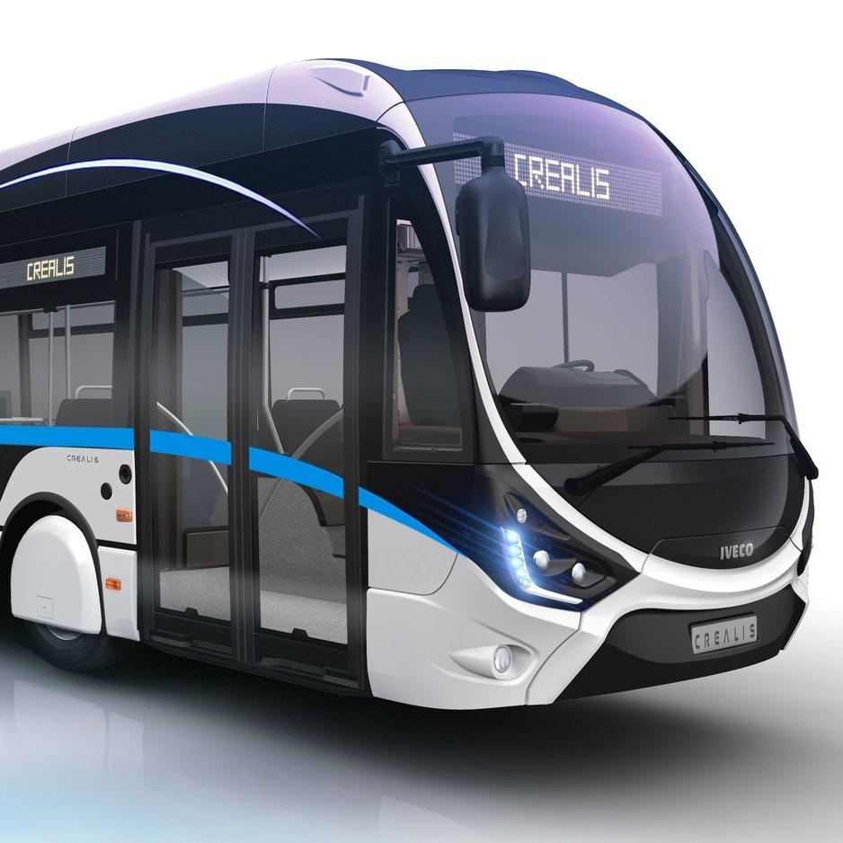Una nuova generazione filobus Iveco dalla collaborazione con Skoda Electric - image Trolley-bus-Créalis on http://mezzipesanti.motori.net