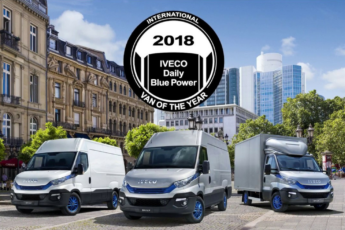 La gamma IVECO Daily Blue Power si aggiudica il titolo di International Van of the Year 2018