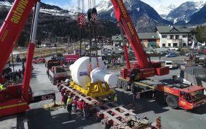 Come trasportare 174 tonnellate per 185 km